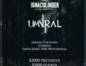 Afiche UMVRAL + INDER - 03 de Junio MiBar